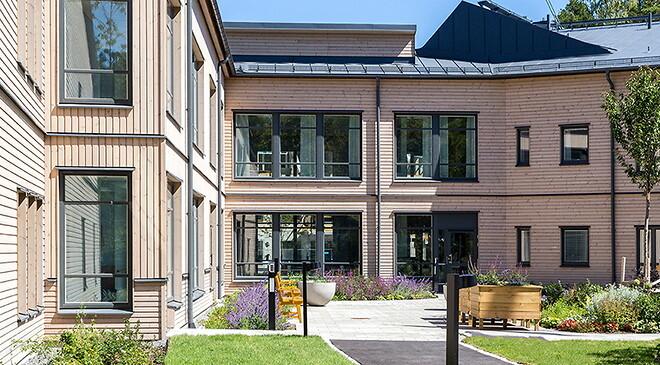 Ersta Sarahemmet. erstadiakoni.se - Studiebesök på nya vårdhem i Stockholmsområdet - Nohrcon