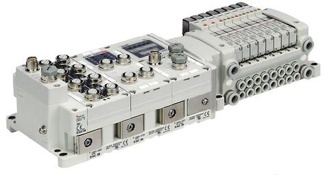 Fieldbussystem til ventiler - EX600 fra SMC