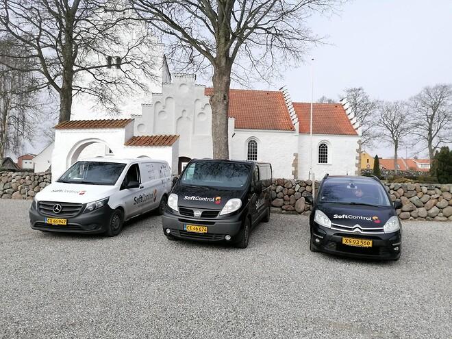 Hyllested er en af de større kirker i Syddjurs Provsti med energistyring.