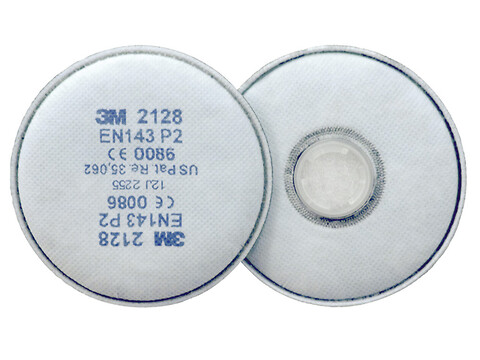 Partikelfilter 2128 P2 SPECIAL 2 STK/PS - 3M