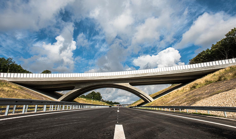 Silkeborg Motorvejen er et svendestykke for Dansk Autoværn - Metal Supply DK