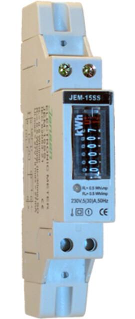 Enkeltfase kWh DIN-skinne måler