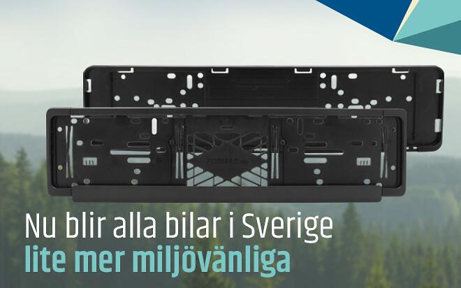 Nu blir alla bilar i Sverige lite mer miljövänliga