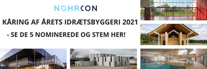 Årets idrætsbyggeri 2021 - afstemning - Nohrcon