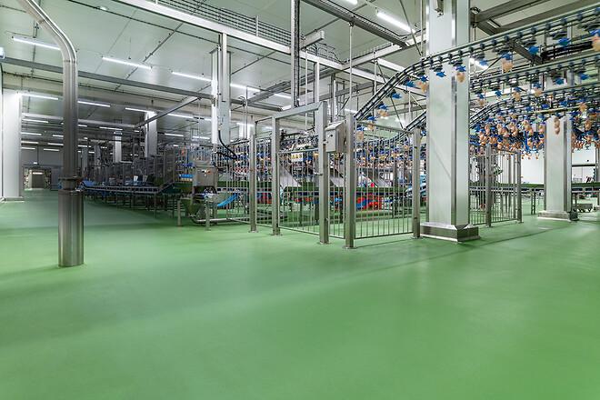 Hur väljer du rätt golv till livsmedelsindustrin?