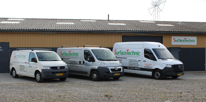 SurfaceTechnic serviceinspektion servicebil