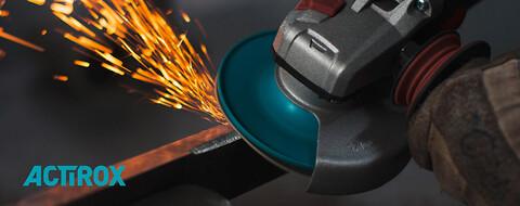 Nyhed - ekstrem aggressiv fiberskive!  - VSM ACTIROX fiberskive til ekstrem aggressiv slibning