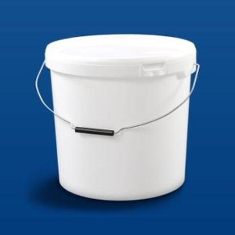 Plastspand HOM20000 - 19,5 l. m/metalh.- hvid