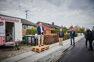 Entreprenørfirmaet Nordkysten har stået for klimatilpasningen af Erdalsvej i hovedentreprise.