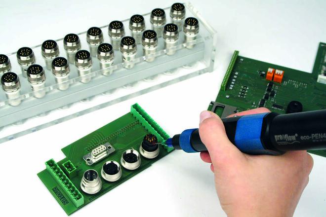 potting electronics preeflow eco-pen700