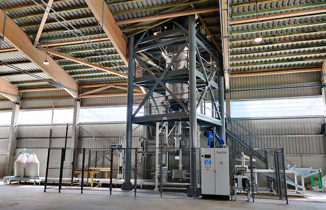 Fully automatic bigbag filling system from PanPac Engineering