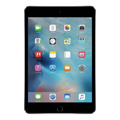 Apple iPad Mini 4 64GB WiFi + Cellular (Space Gray) - Grade B - tablet