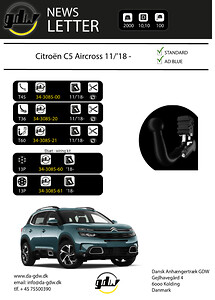 Citroen C5 Aircross för det nye T60 system från GDW