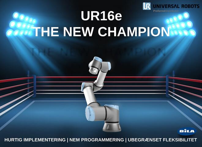 UR16e, automation, UR, Robot