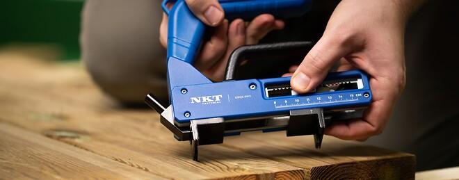 NKT Fasteners introducerar nytt verktyg till dold trallmontering: Deck Pro®