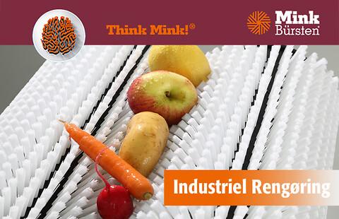 Industriel rengøring med Mink Zick-Zack-system