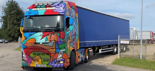 Volvo,Scanvo,Lastbil, Brugt Lastbil,Trailer,Hangler,Gardintrailer