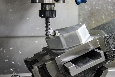 CNC Fræsning - CNC-fraesning