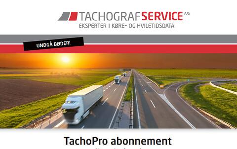 Tachografservice til kun DKK 79,-