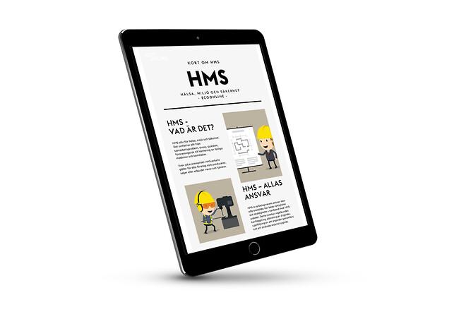 Guide om HMS (hälsa, miljö och säkerhet)