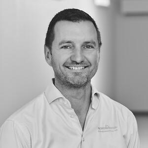 Frank Schou Kruse, direktør hos Entreprenørfirmaet Nordkysten