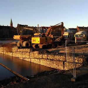 Sortedams Sø i København er et af de steder, der er blevet renset op.