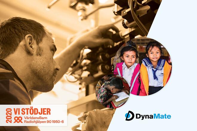Bidra till Världens Barn med en maskinstatuskontroll