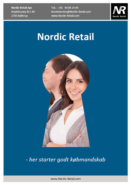 Nordic Retail - Profilbrochure med produktgrupper