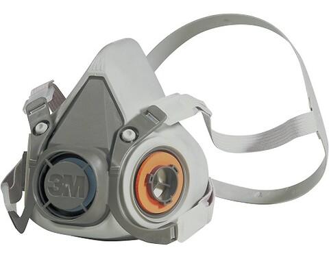 Halvmaske, 3M™ 6300 - 3m halvmaske maske 6300 large halmaske værnemidler åndedrætsværn