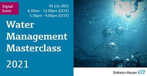 Water Management Masterclass 2021