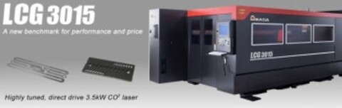Amada LCG Highly tuned CO² Laser