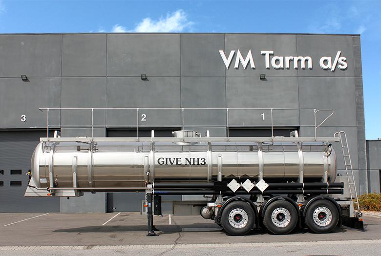VM Tarm a/s leverer ADR kemitrailer til Give NH3 - Transportmagasinet
