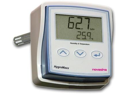 Novasina HygroMaxx: Digital præcisions-transmitter - Novasina HygroMaxx er en digital transmitter med CMOS-sence teknologi.