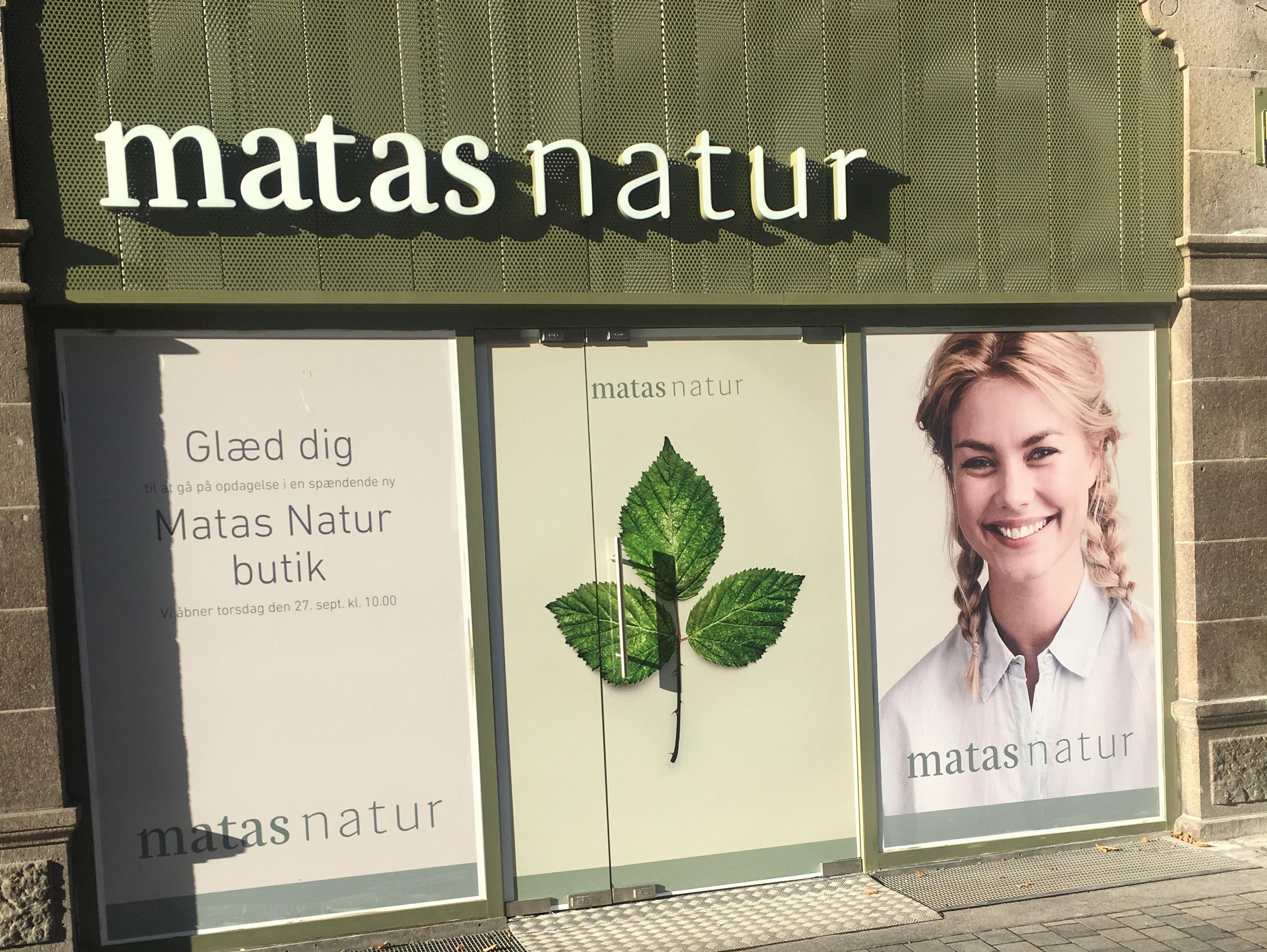 a2c78a60b3b4 Matas åbner dørene for nyt grønt koncept - RetailNews