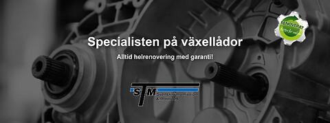 Fabriksrenoverade växellådor med garanti från STM, Svensk Transmission & Motor - Renoverad Växellåda med garanti