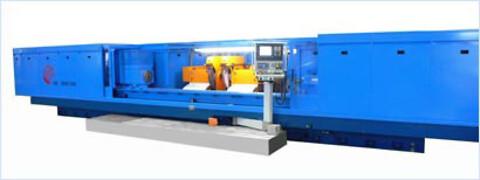 Store TOS HOSTIVAR maskiner er velegnede for slibning af lange emner med store diametre.
