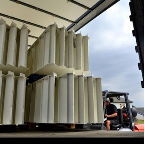 Transport og lagring af lakerede emner - Indulak A/S