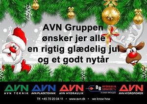 AVn Gruppen ønsker glædelig jul