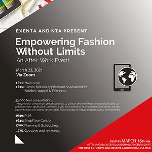 Event 23 mars Nordiska Textilakademin och Exenta