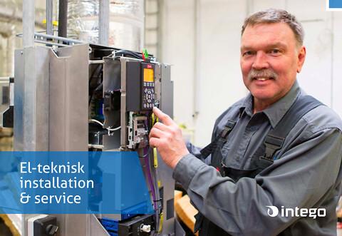 Intego tilbyder alle former for el-tekniske løsninger til industri og procesanlæg.