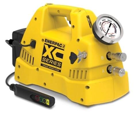 Batteridreven Torque pumpe fra kNm Hydraulikk as - Enerpac, hydraulisk pumpe, batteridrevet hydraulisk pumpe