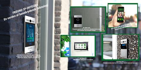 Freund IP - perfekt løsning til virksomheder, ejendomme og institutioner - IP- dørtelefoni