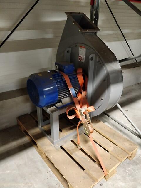 Brugt 15kW Blæser-enhed - Rucon B. V. Ventilatoren