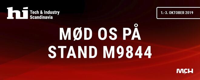 HI messe, Filterteknik A/S, gratis olieanalyse, stand M 9844