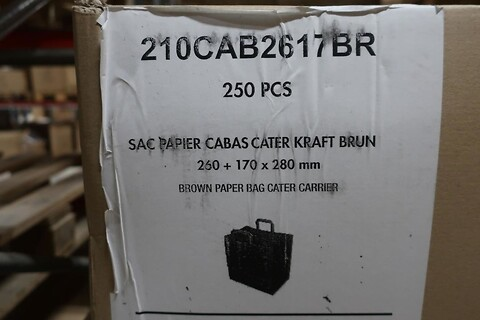 250 stk. brun bred caterpose - type 210CAB2617BR