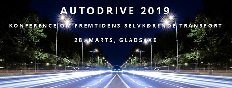 Autodrive 2019 - konference om fremtidens selvkørende transport