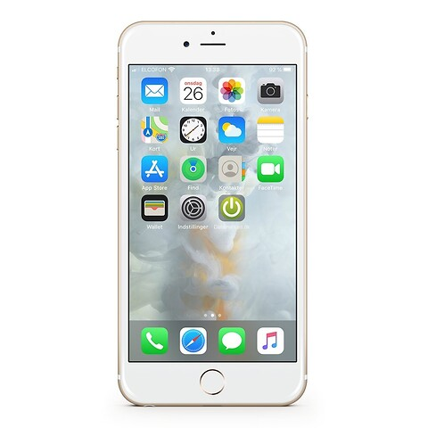 Apple iphone 6S 64GB (guld) - grade b - mobiltelefon