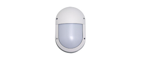 Slitstark LED-skottlampa som tål vatten, damm och slag