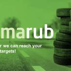 """-Vår egen gummiprodukt """"Climrub"""" är hållbarhet på riktigt!"""
