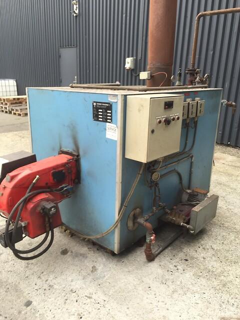 Dampgenerator 600 kg/h x 10 bar, Chr. Møller A/S's Brugtbørs